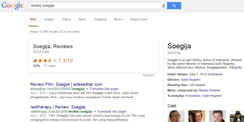 Review Soegija