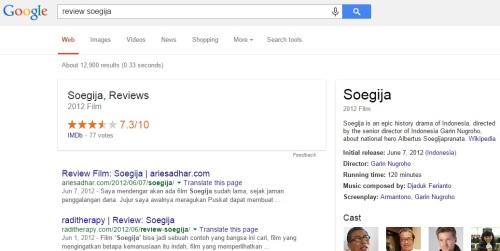 Review Soegija