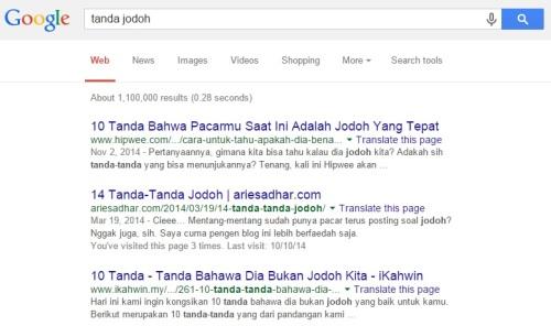 Tanda Jodoh