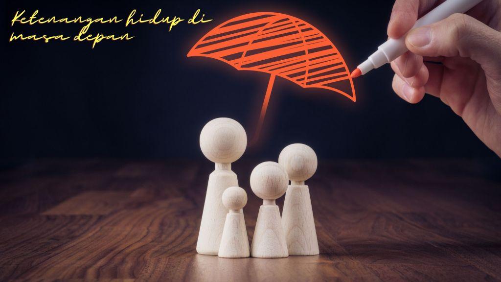 Ketenangan hidup di masa depan bersama asuransi AXA Mandiri